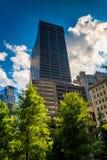 Tall, modern skyscraper in Boston, Massachusetts. Royalty Free Stock Images