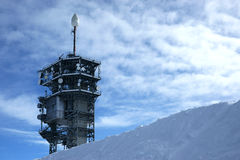 Observatory on titlis Stock Image