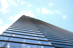 Tall office building with perspective Royalty Free Stock Image