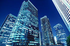 Tall office buildings Stock Photography
