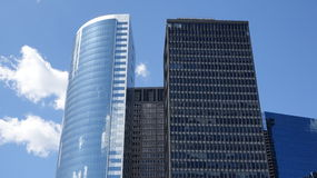 Tall Office Buildings Stock Image