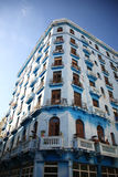 Tall old apartment block Havana Royalty Free Stock Photo