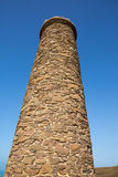 Tall old industrial chimney Stock Photography