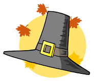 Tall pilgrim hat Royalty Free Stock Photography