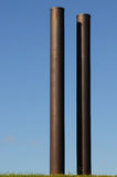 Tall Pipes Royalty Free Stock Photography