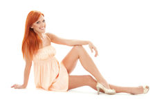 Tall redhead Stock Photos