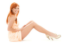 Tall redhead Stock Photography