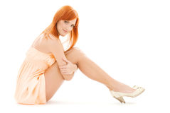 Tall redhead Royalty Free Stock Images