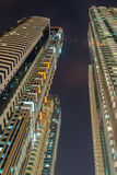 Tall residential buildings in Dubai Royalty Free Stock Photo
