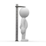 Tall Ruler Stock Photography