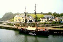 Tall sailing ship. Stock Images