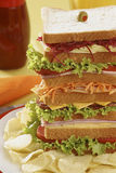 Tall Sandwich Royalty Free Stock Image