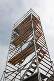 Tall scaffolding Royalty Free Stock Images