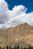 Tall Shanti Stupa in Leh, Ladakh, India Stock Photography