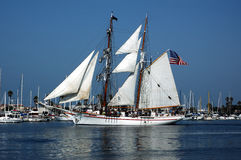 Tall ship 1 Stock Photography