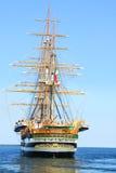 Tall Ship. Italian naval training tall ship Stock Images