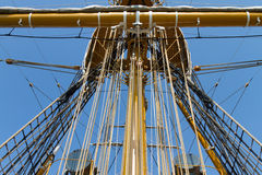 A tall ship Stock Image