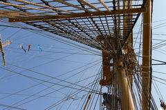 A tall ship Royalty Free Stock Photography