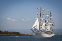 Tall ship. At the sea fest in Ilhavo City - Portugal stock images
