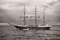 Tall Ship ALEXANDER VON HUMBOLDT II Stock Photos