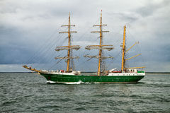 Tall Ship ALEXANDER VON HUMBOLDT II Royalty Free Stock Photography