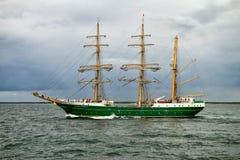 Tall Ship ALEXANDER VON HUMBOLDT II Royalty Free Stock Photography