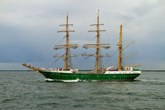 Tall Ship ALEXANDER VON HUMBOLDT II Royalty Free Stock Photo