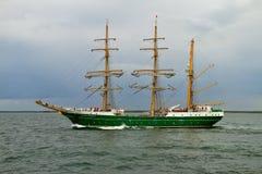 Tall Ship ALEXANDER VON HUMBOLDT II Royalty Free Stock Photo