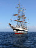 Tall Ship anchored. Royalty Free Stock Photo