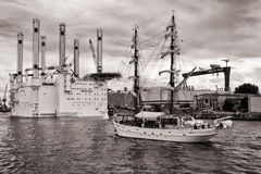 Tall Ship APHRODITE Royalty Free Stock Photo