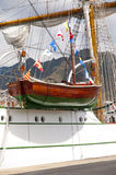 Tall Ship Cuauhtemoc in Santa Cruz de Tenerife Stock Photography