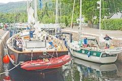 Tall Ship at Dochgarroch. Royalty Free Stock Photos