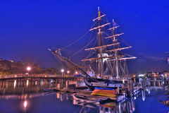 Tall ship docked Stock Photos
