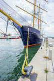 Tall ship docked at Toronto Royalty Free Stock Photography