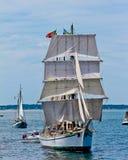 Tall Ship Gazela from Philadelphia, PA. Stock Photo