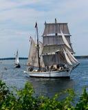 Tall Ship Gazela from Philadelphia, PA. Stock Image
