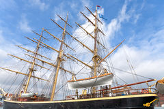 Tall ship Georg Stage  in Copenhagen Stock Image