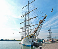 Tall ship, Holland Stock Image
