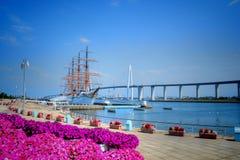 Tall ship Kaiwo Maru Royalty Free Stock Photography