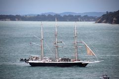 Tall Ship Lord Nelson in Auckland Royalty Free Stock Photos