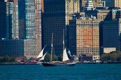 Tall Ship in Manhattan, NYC Stock Photos