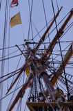 Tall ship mast Royalty Free Stock Photography