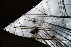 Tall ship stock image