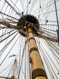 Tall Ship Mast Stock Photo