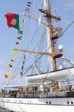 Tall ship NRP Sagres Stock Photography