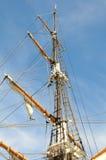 Tall Ship 'Pilgrim' Mast Royalty Free Stock Photography