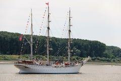 2016 Tall Ship Race, Antwerp Belgium. Stock Image