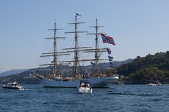 Tall Ship Races Bergen Royalty Free Stock Photography