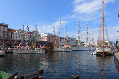 Tall Ship Races Bergen Stock Photo