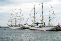 Tall Ship Races - Gdynia - Poland 04.07.2009 royalty free stock photography
